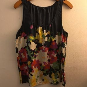 Theory Colorful Tank Top